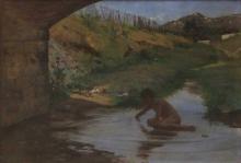 Tommasi Adolfo, Ponte sul Rio Maggiore.jpg