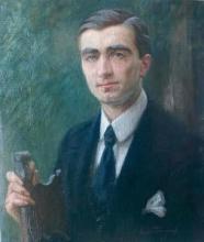 Tommasi Adolfo, Ritratto di Giorgio De Chirico.jpg