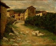 Tommasi Adolfo, Strada di campagna.jpg