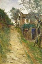 Tommasi Adolfo, Strada di campagna.png