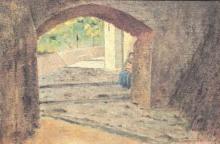 Tommasi Adolfo, Vicolo toscano.jpg