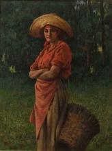 Tommasi Angiolo, Ritratto di donna con gerla.jpg