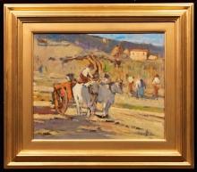 Tommasi Lodovico, Lavoro nei campi [cornice].jpg