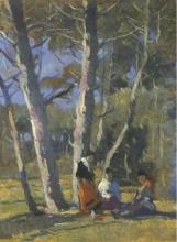 Lodovico Tommasi, Sosta sotto gli alberi