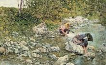Tommasi Ludovico, Due donne al fiume.jpg