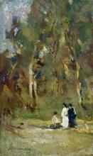 Tommasi Ludovico, Figure femminili nel bosco.jpg