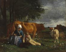 Constant Troyon, Scena pastorale | Pastoral scene
