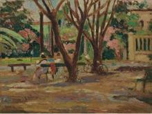 Ulvi Liegi, Giardino all'Ardenza