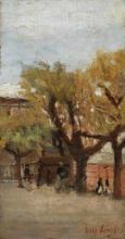Ulvi Liegi, Scorcio di giardino