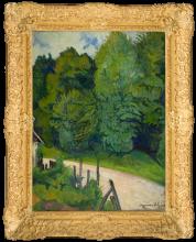 Suzanne Valadon, Strada nella foresta di Compiègne | Route dans la forêt de Compiègne