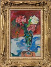 Suzanne Valadon, Fiori in un vaso | Fleurs dans un vase | Flowers in a vase