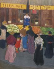 Vallotton, Al mercato.jpg