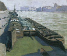 Vallotton, Chiatte, rive della Senna [1901].jpg