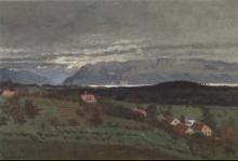 Vallotton, Dintorni di Bussigny, paesaggio di pioggia.jpg