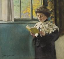Vallotton, Donna che legge alla finestra.jpg