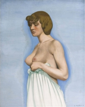 Vallotton, Donna che regge la sua camicia [1914].jpg