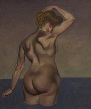 Vallotton, Donna nuda di spalle, cielo grigio.jpg