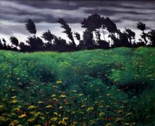 Vallotton, Il campo fiorito
