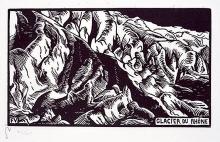 Vallotton, Il ghiacciaio del Rodano.jpg