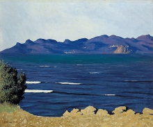 Vallotton, L'Estérel e la baia di Cannes | L'Estérel et la baie de Cannes | L'Estérel and the bay of Cannes