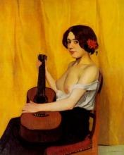 Vallotton, La chitarrista.jpg