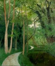 Vallotton, La strada forestale.jpg