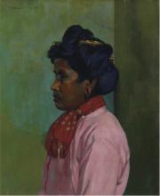 Vallotton, Negra con la camicetta rosa.png