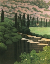 Vallotton, Paesaggio a Marcillac | Paysage a Marcillac | Landscape in Marcillac