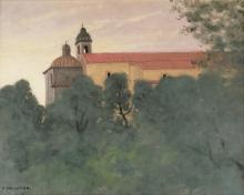 Vallotton, Paesaggio a Perugia | Paysage à Perouse | Landscape in Perugia