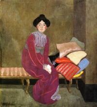 Vallotton, Ritratto di Gabrielle [1899].jpg