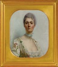 Vallotton, Ritratto di Madame P. du Seuil [cornice].jpg