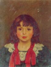 Vallotton, Ritratto di bambina | Portrait de fillette | Portrait of a young girl