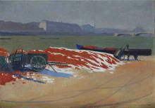 Vallotton, Riva della Senna con la sabbia rossa.png