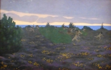Vallotton, Sera antica (Crepuscolo | Soir antique (Crépuscule) | Ancient Evening (Twilight)