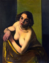 Vallotton, Torso di giovane donna | Torse de jeune femme | Torso of a young woman