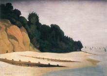 Vallotton, Tratto di riva con sagoma d'albero.jpg