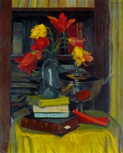 Vallotton, Tulipani rossi e gialli | Tulipes rouges et jaunes | Red and yellow tulips