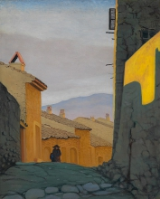 Vallotton, Una strada a Cagnes.jpg