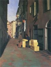 Vallotton, Vecchia strada a Nizza.jpg