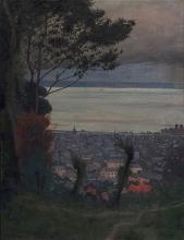 Vallotton, Veduta di Honfleur, sera.jpg