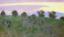 Vallotton, Verso Losanna, sera | Vers Lausanne, le soir | Near Lausanne, evening
