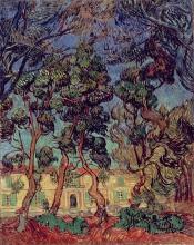 Van Gogh, Ospedale di Saint Rémy | Hôpital à Saint-Rémy | Hospital at Saint-Rémy