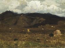 Achille Vertunni, Paesaggio collinare