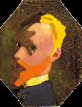 Vuillard, Autoritratto ottagonale | Autoportrait octogonal | Octagonal self portrait