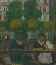 Vuillard, I giardini delle Tuileries, Parigi | Le jardin des Tuileries, Paris | The Tuileries gardens, Paris