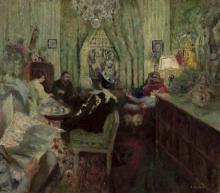Vuillard, Il salotto di Madame Aron   Le salon de Madame Aron   The salon of Madame Aron