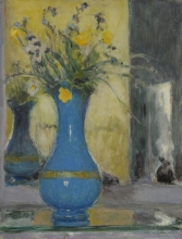 Vuillard, Il vaso azzurro | Le vase bleu | The blue vase