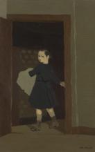 Vuillard, La bambina alla porta | La petite fille à la porte | The child at thedoor