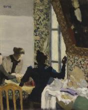 Vuillard, La gugliata | L'aiguillée | Thethread