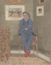 Vuillard, Ritratto di Félix Vallotton nel suo studio | Portrait de Félix Vallotton dans son atelier | Portrait of Félix Vallotton in his studio